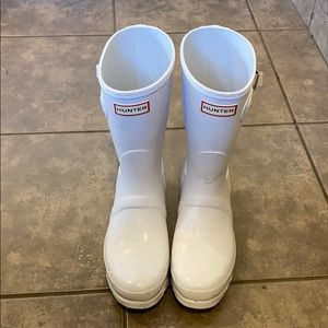 Hunter rain boots sz 8